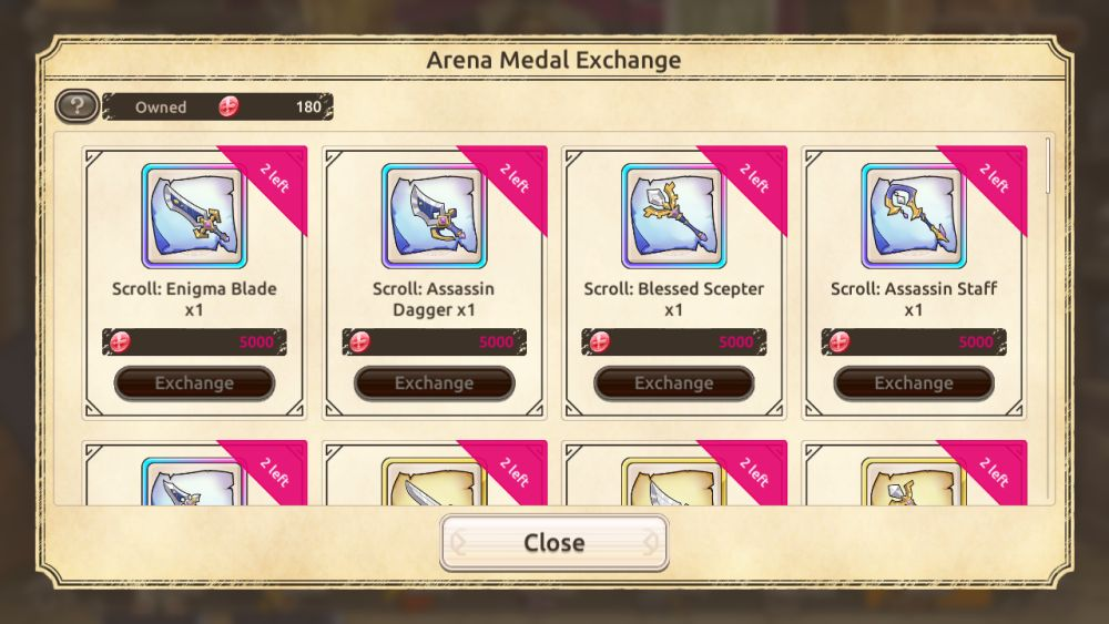 konosuba fantastic days battle medal