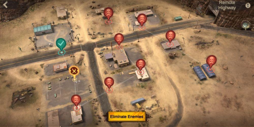 eliminating enemies in last fortress underground