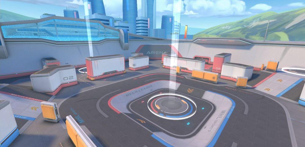 mech arena robot showdown arena shot