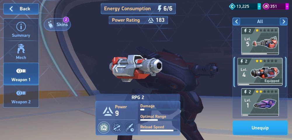 mech arena robot showdown arsenal