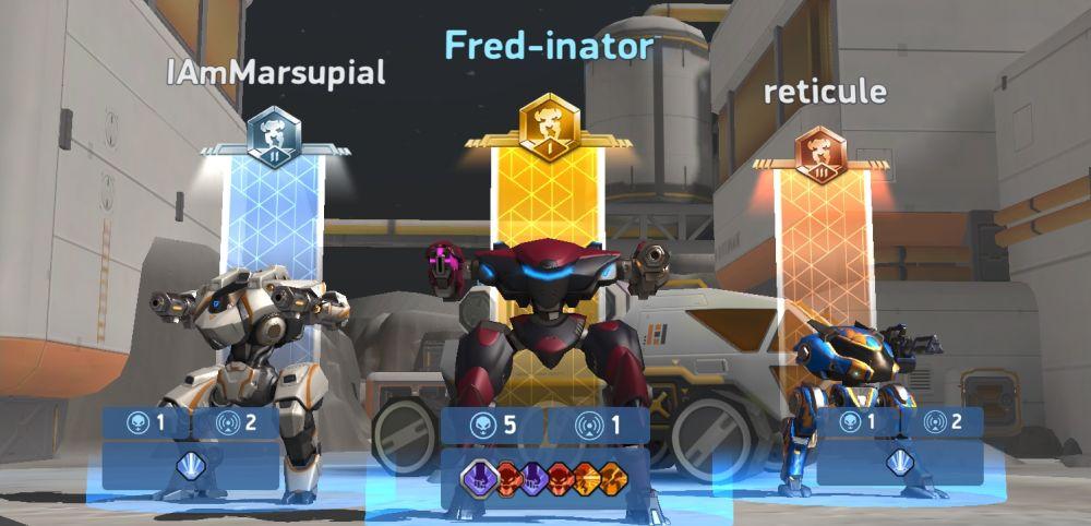 mech arena robot showdown mvp