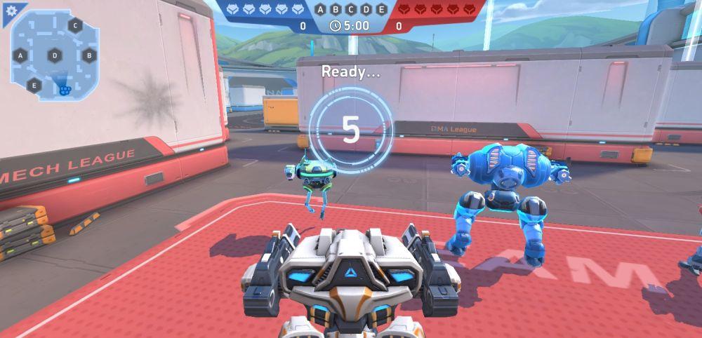 mech arena robot showdown starter fight a