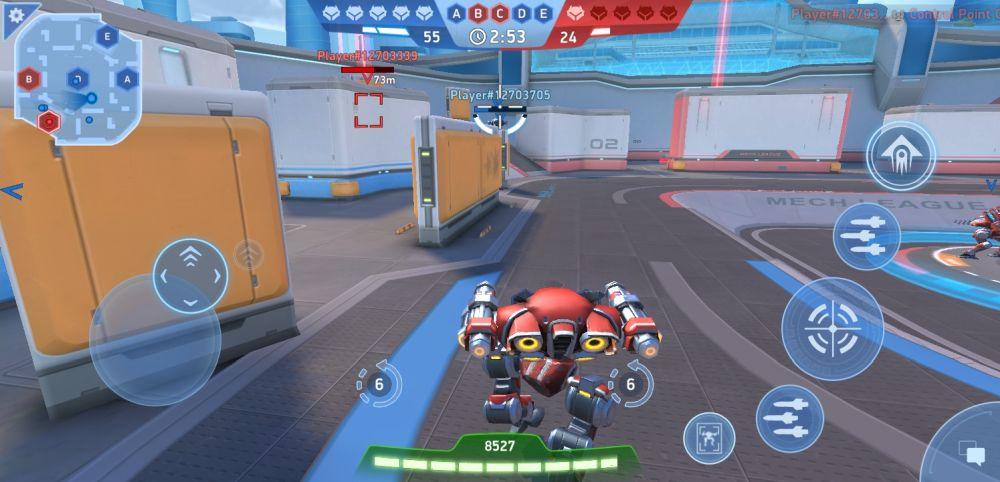 mech arena robot showdown starter fight b