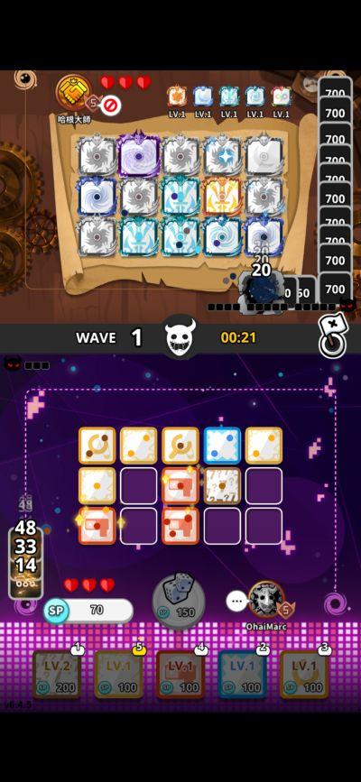 random dice mid-battle