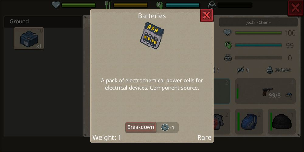 mini dayz 2 batteries