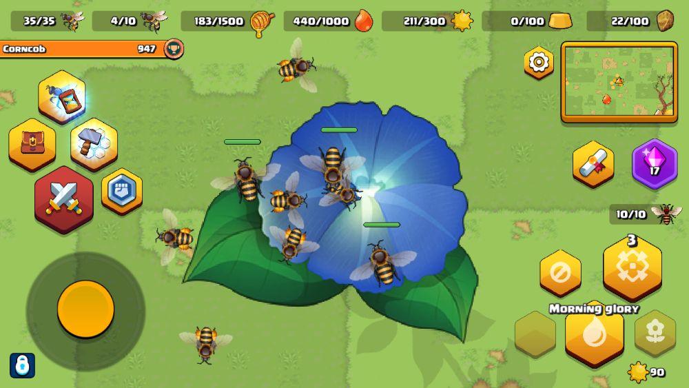 pocket bees garden life