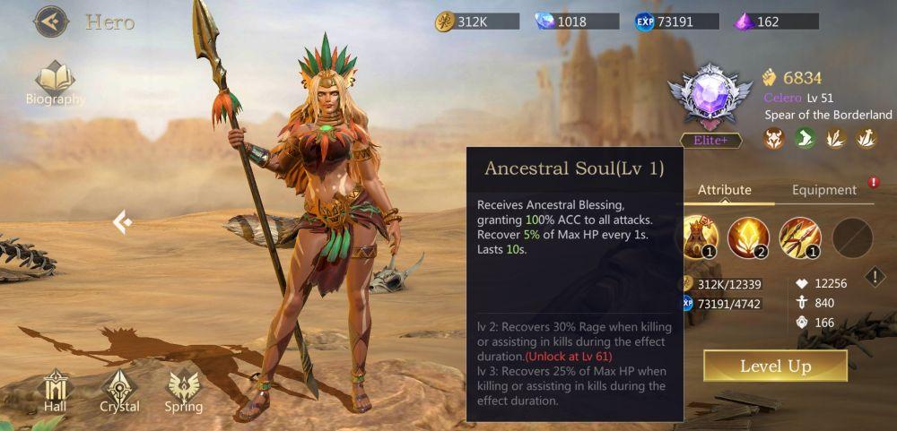 rage of destiny ancestral soul