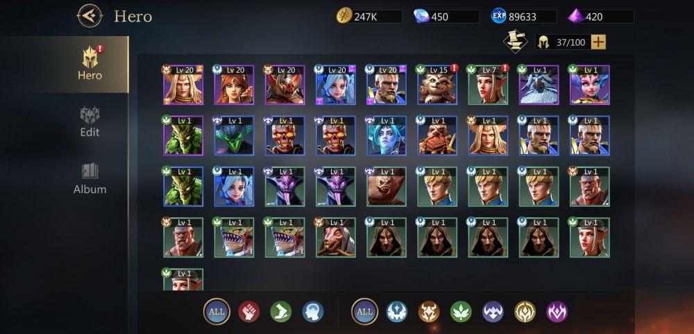 rage of destiny heroes