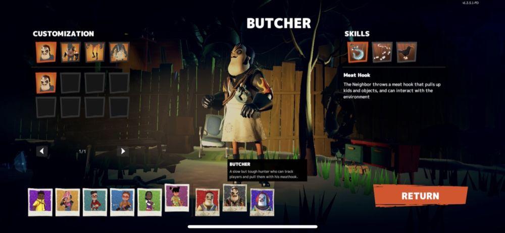secret neighbor butcher