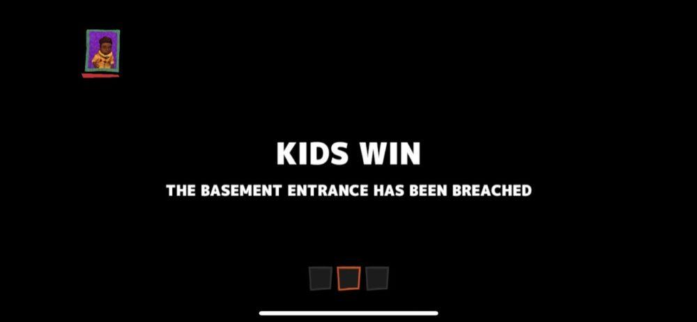 secret neighbor kids win
