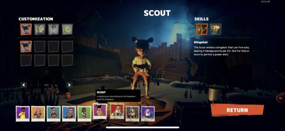 secret neighbor scout