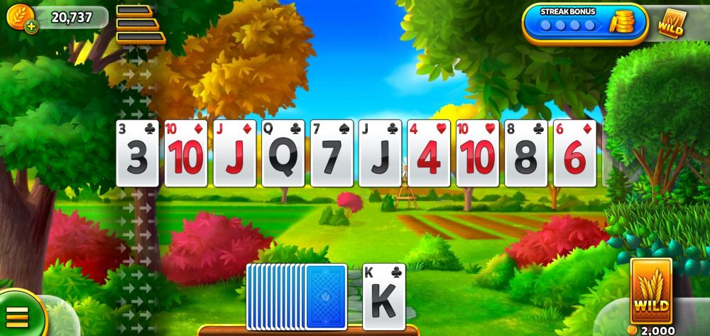solitaire grand harvest special level