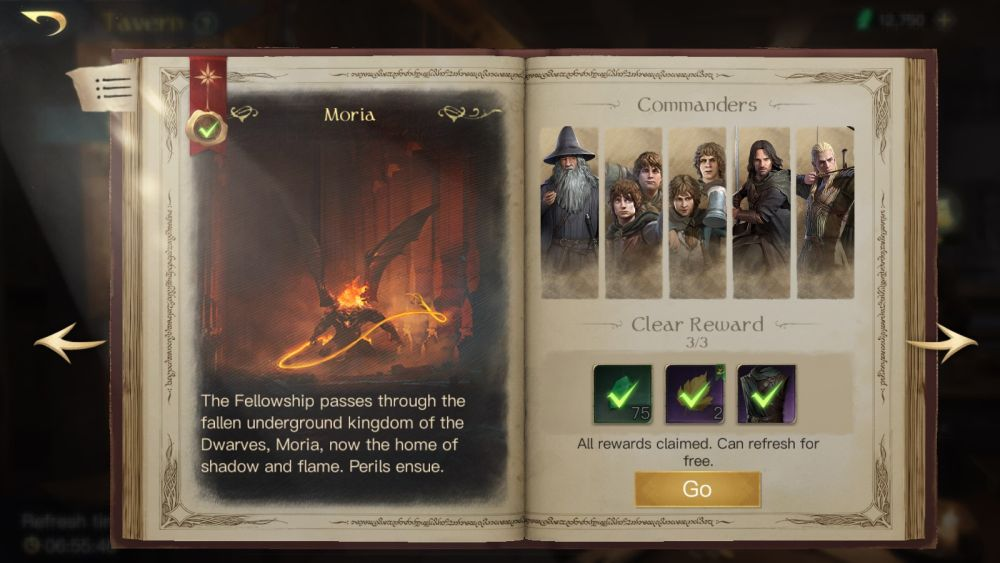 lord of the rings rise to war moria