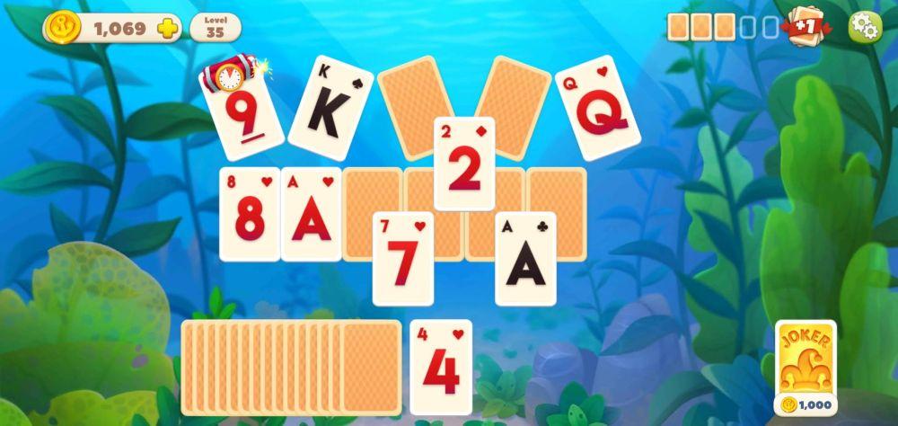 undersea solitaire tripeaks the  bomb