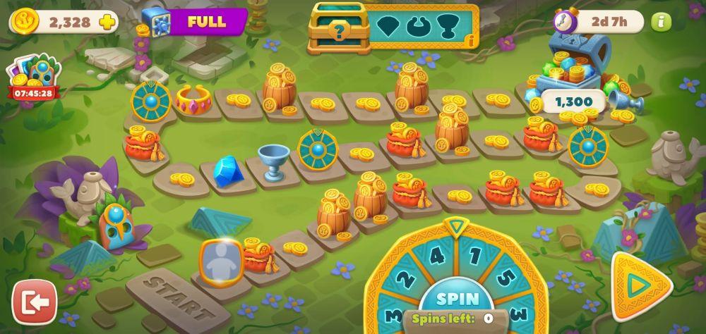 undersea solitaire tripeaks treasure path