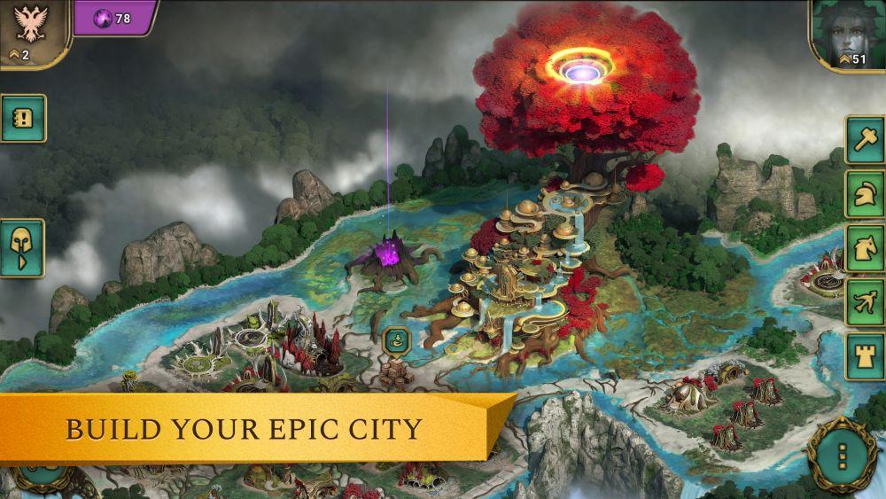 arkheim realms at war elven town