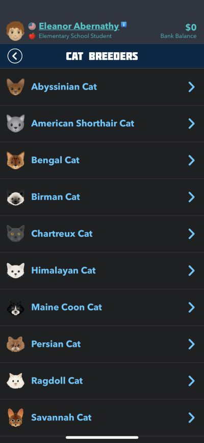 bitlife cat breeders