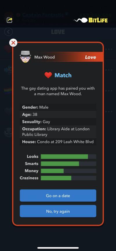 bitlife dating app love match