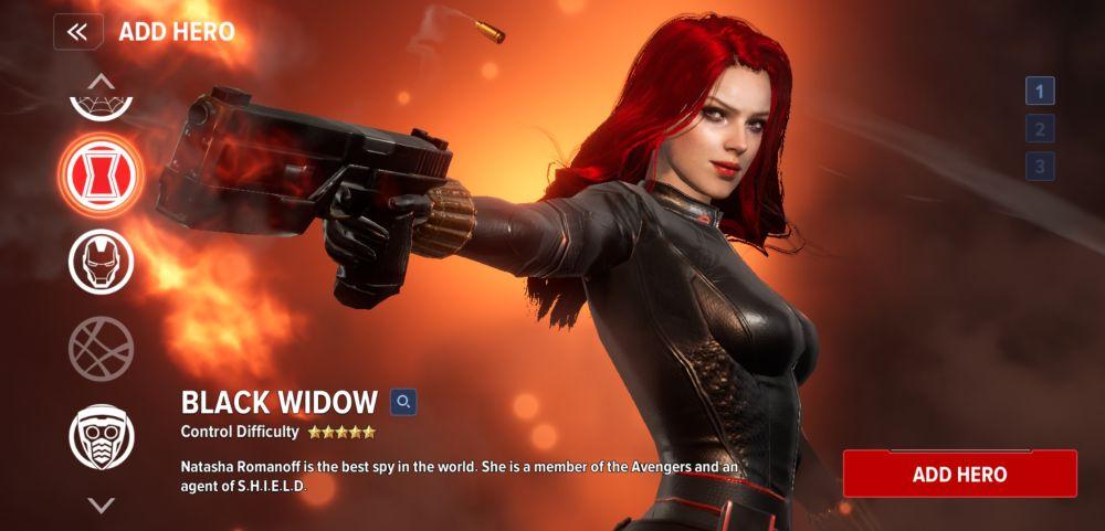 black widow marvel future revolution