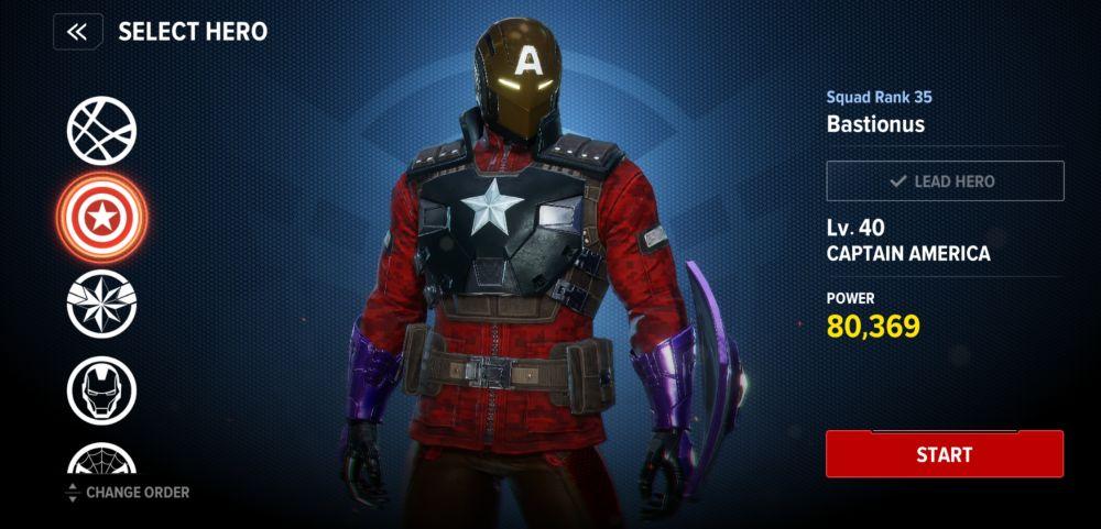 captain america pve build marvel future revolution