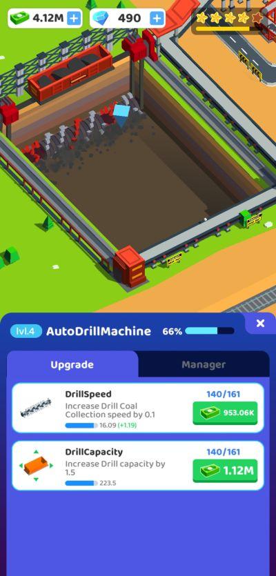 coal mining inc auto drill machine