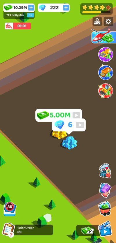 coal mining inc money and diamonds