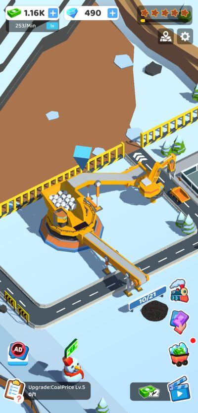 coal mining inc snow plant