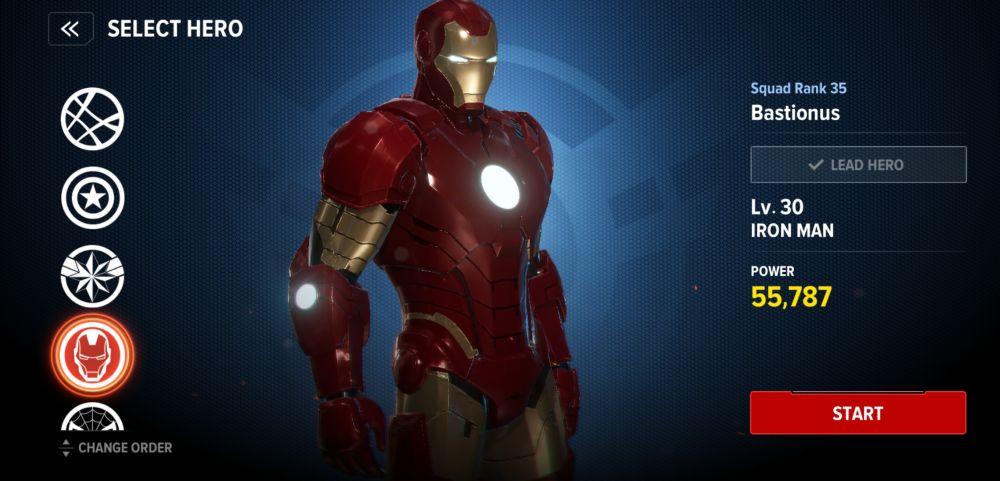 iron man pve build marvel future revolution