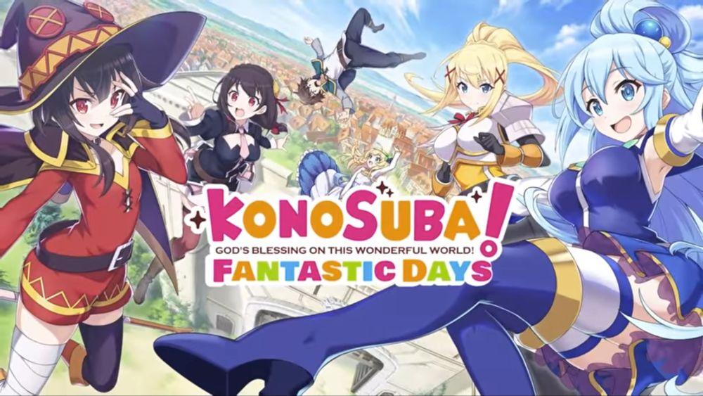 konosuba fantastic days tier list