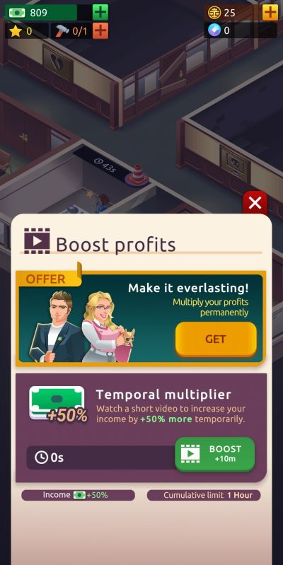 law empire tycoon profit boost