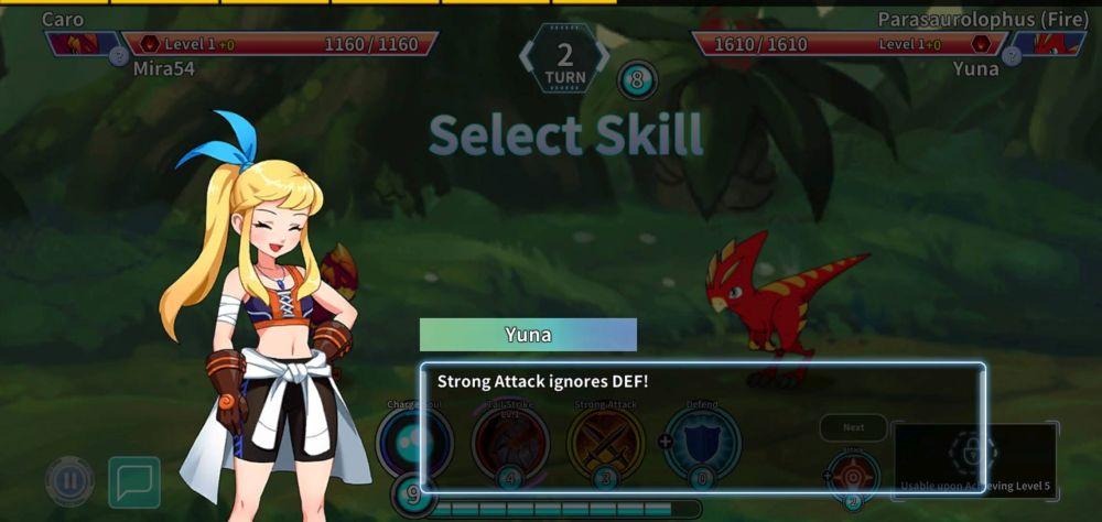 legendino special skills