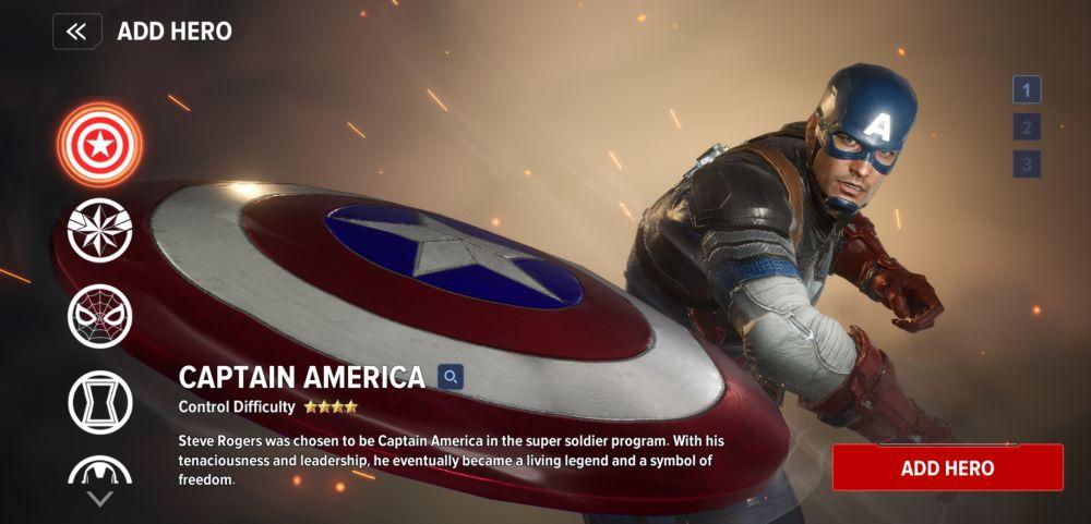 marvel future revolution captain america