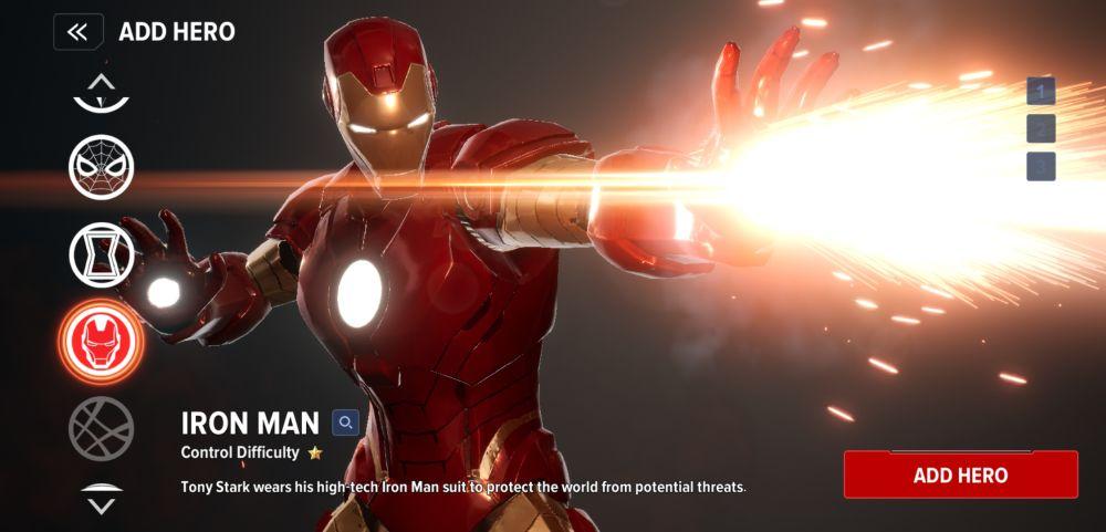 marvel future revolution iron man