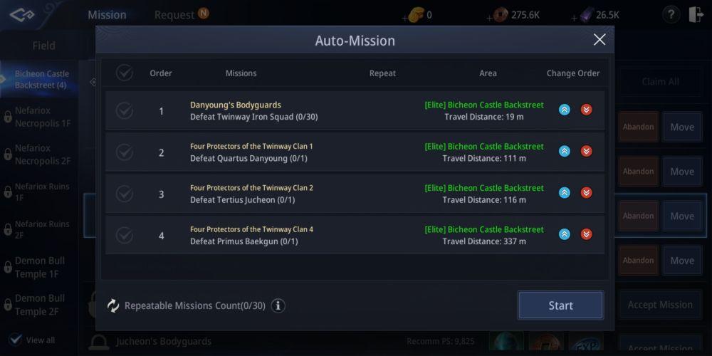 mir4 missions