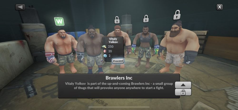 mma manager 2021 brawlers inc