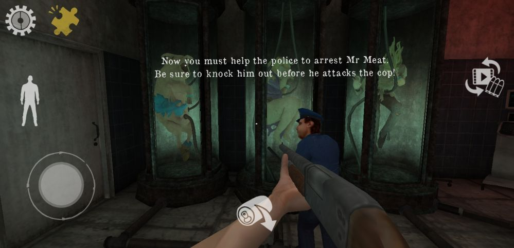 mr meat cop escort