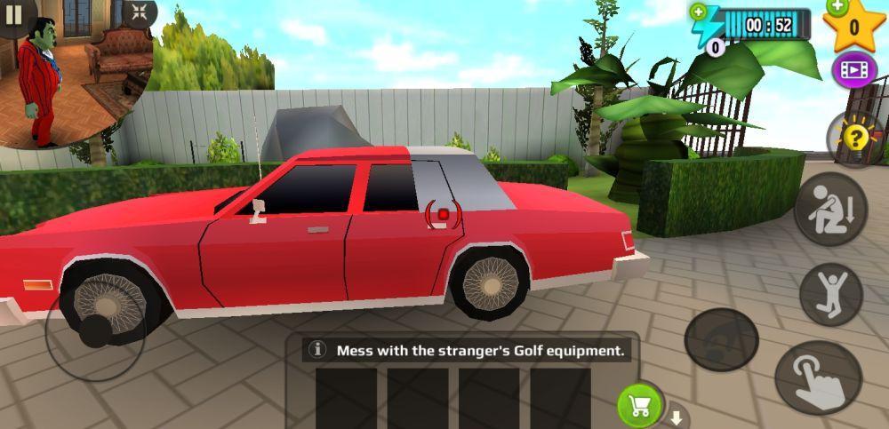 scary stranger 3d demo game