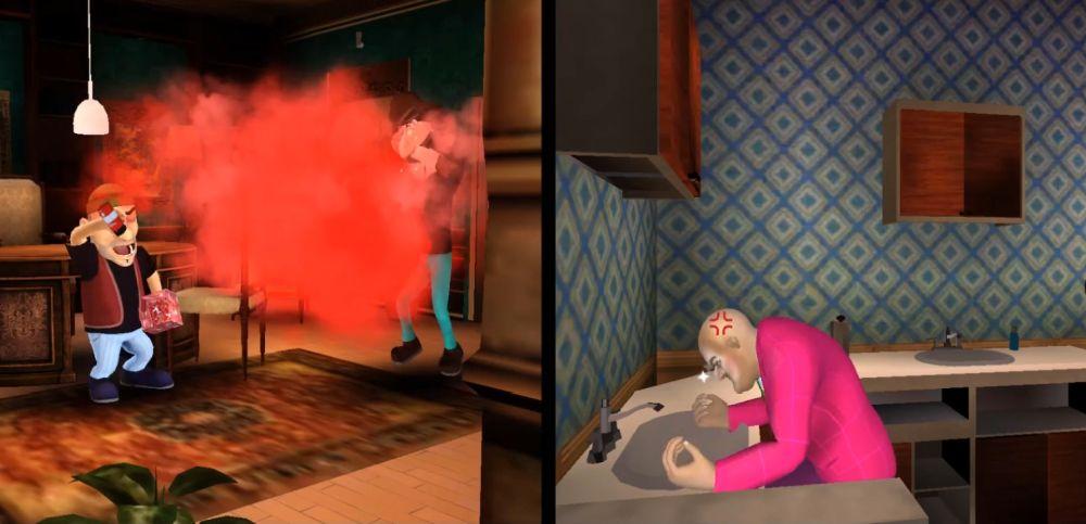 scary stranger 3d gift prank