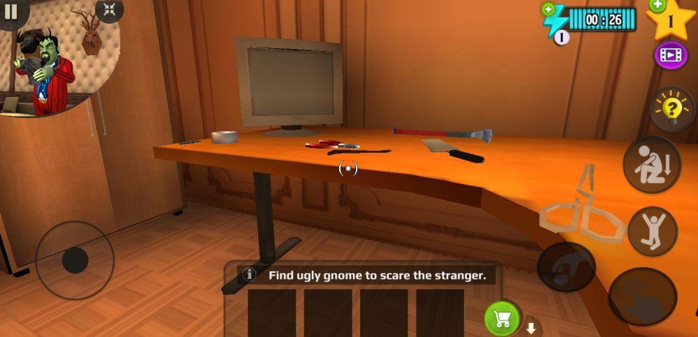 scary stranger 3d gnome tape