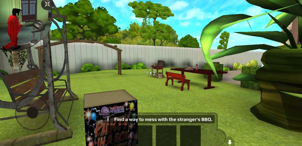 scary stranger 3d grill box
