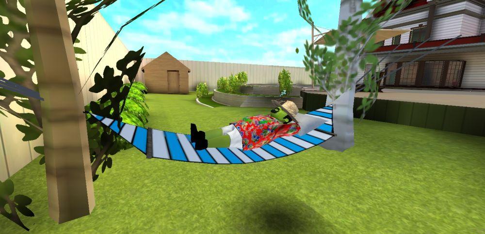 scary stranger 3d hammock start