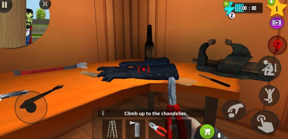 scary stranger 3d yank gloves