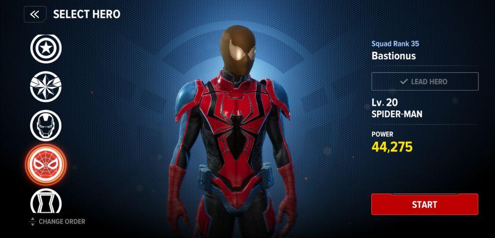 spider-man pve build marvel future revolution