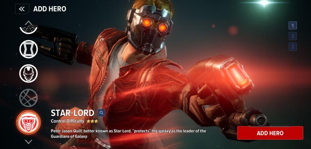 star-lord marvel future revolution