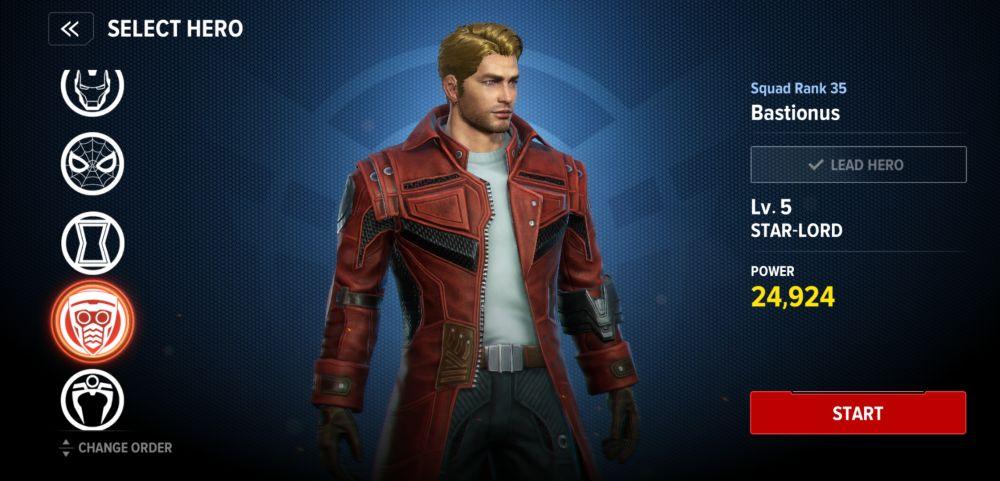 star-lord pve build marvel future revolution