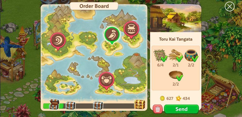 taonga island adventure orders