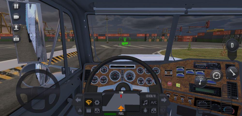 truck simulator ultimate cockpit view