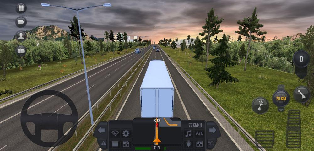 truck simulator ultimate cruise control