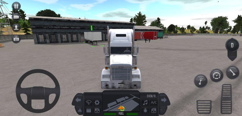 driving around in truck simulator ultimate