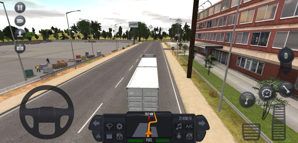 truck simulator ultimate gameplay